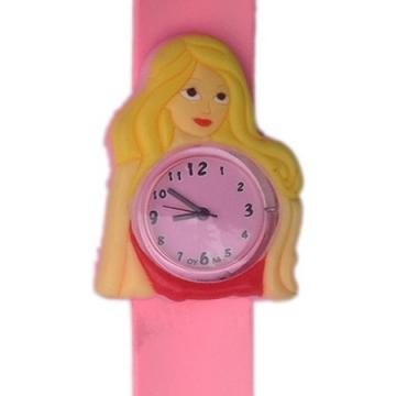 Barbie horloge slap on