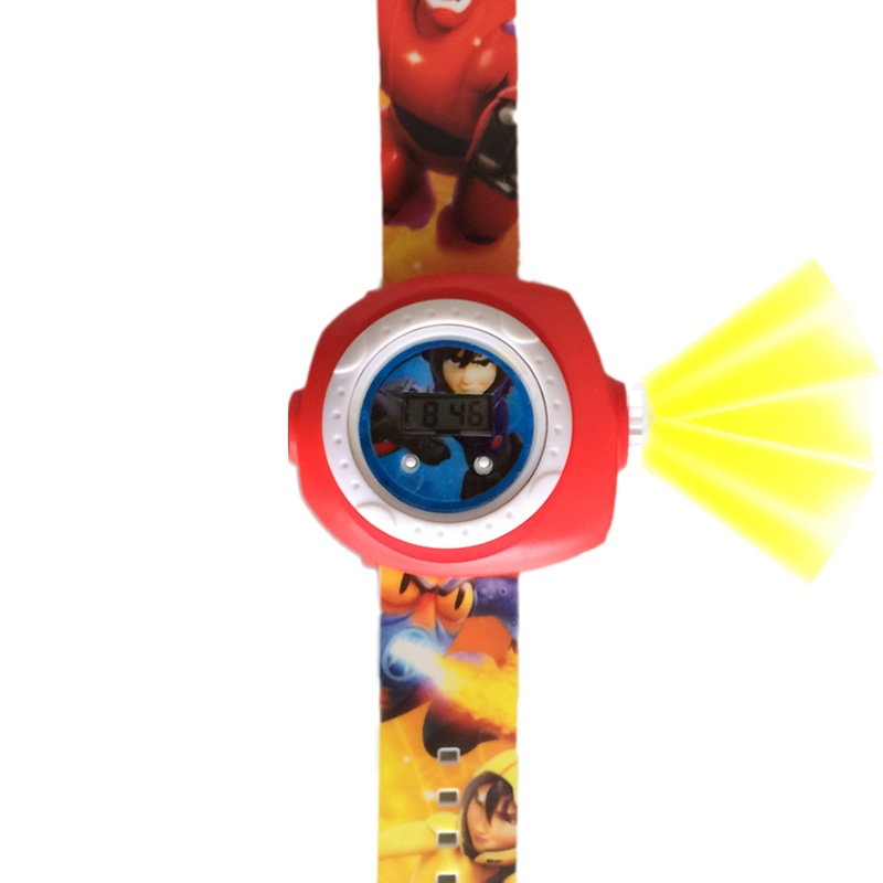 Big Hero horloge projectie