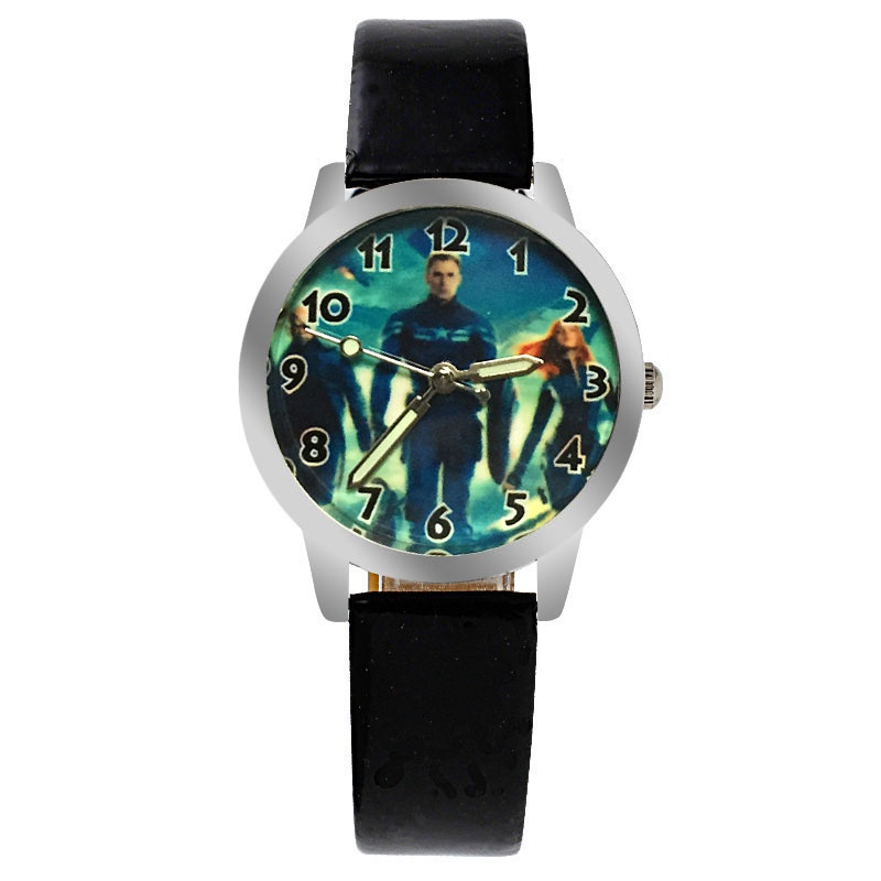 Captain America horloge glow in the dark