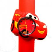 Cars horloge -  slap on