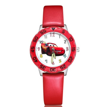 Cars horloge glow in the dark - deluxe