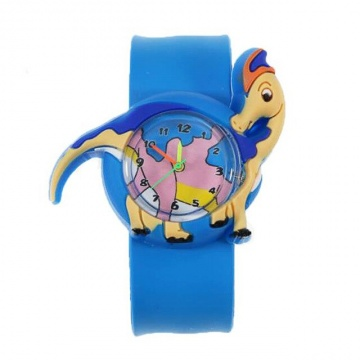 Dinosaurus horloge slap on - 2