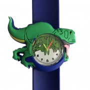Dinosaurus horloge -  slap on - T-rex