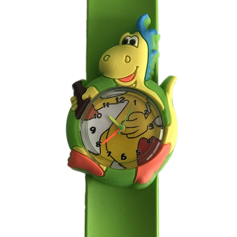 Dinosaurus horloge slap on