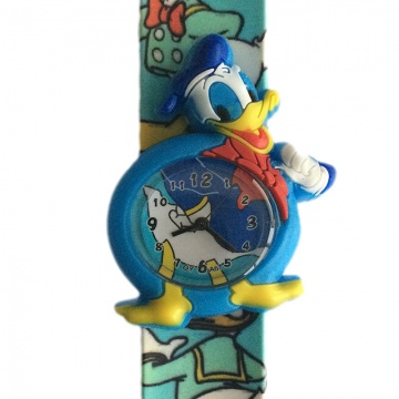 Donald Duck horloge slap on