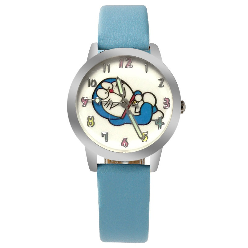 Doraemon horloge glow in the dark