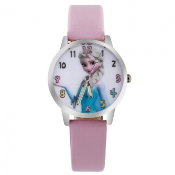 Frozen horloge glow in the dark - Elsa