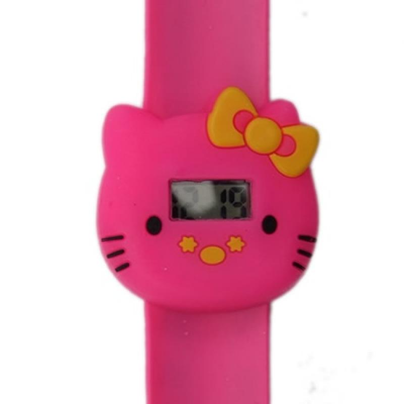 Hello Kitty horloge slap on digitaal