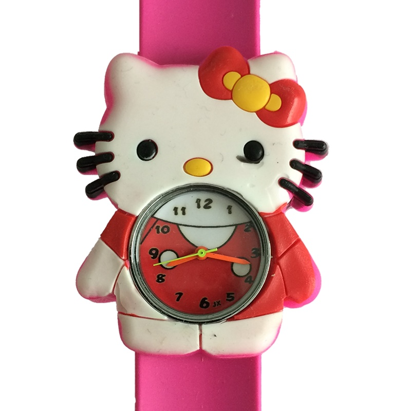 Hello Kitty horloge slap on slap on