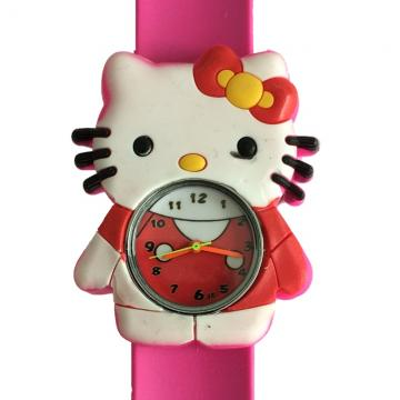 Hello kitty horloge slap on 2