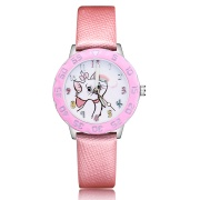 Kat horloge -  glow in the dark - deluxe