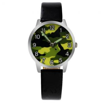 Leger horloge glow in the dark