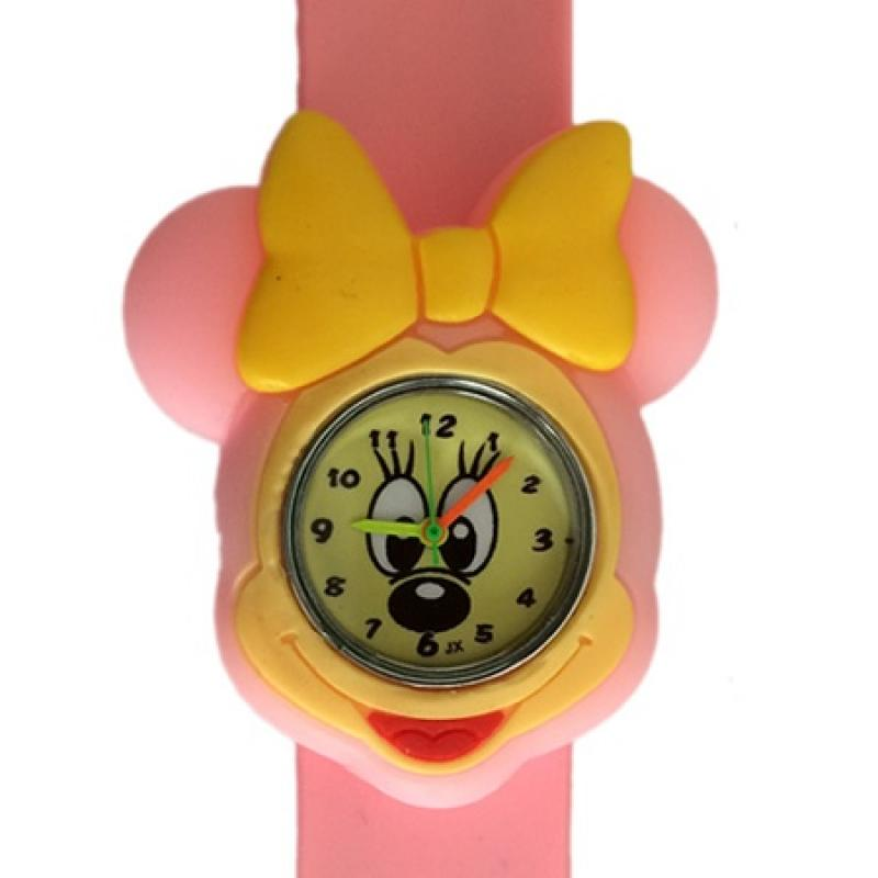 Minnie Mouse horloge slap on