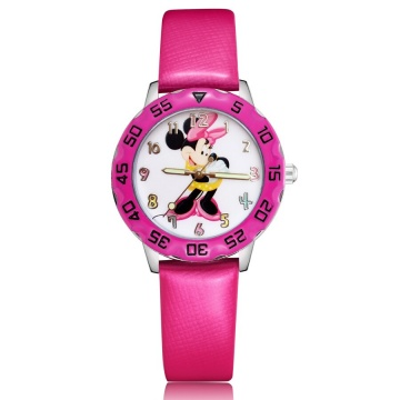 Minnie mouse horloge glow in the dark - deluxe