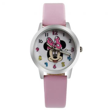 Minnie Mouse horloge glow in the dark