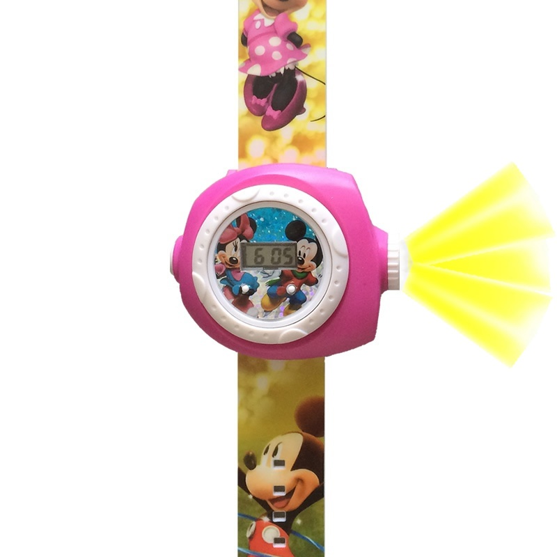 Minnie Mouse horloge projectie