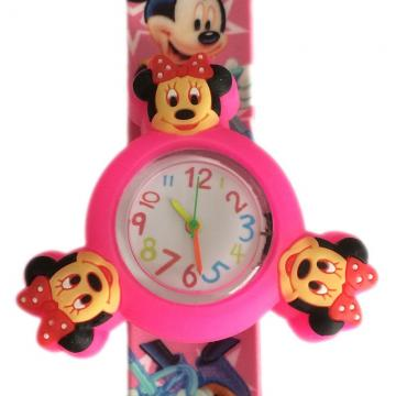 Minnie mouse horloge spinner