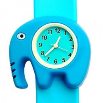 Olifant horloge slap on
