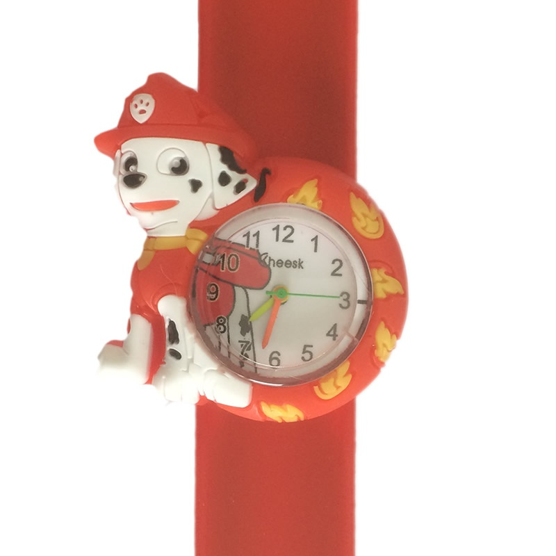 Paw Patrol horloge slap on - Marshall