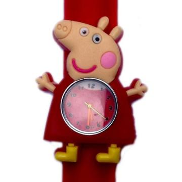 Peppa Pig horloge slap on