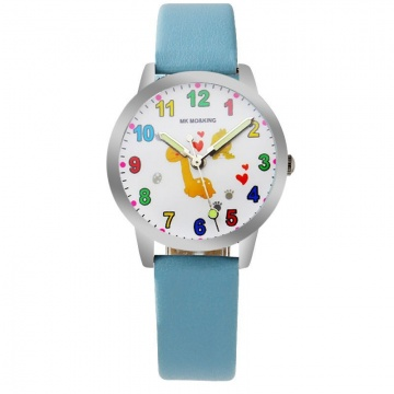Schildpad horloge glow in the dark