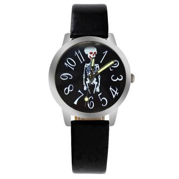 Skelet horloge glow in the dark