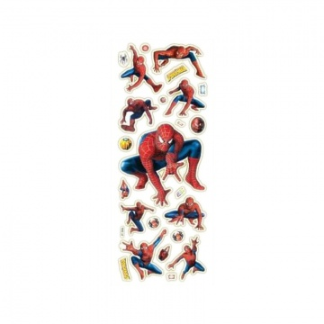 Spiderman stickervel