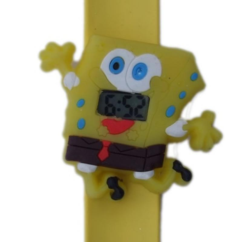 Spongebob horloge slap on digitaal