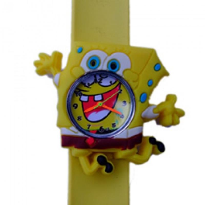 Spongebob horloge slap on