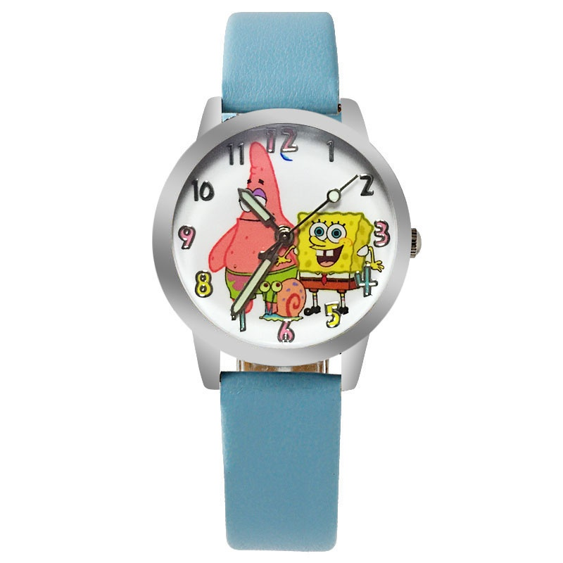 Spongebob horloge glow in the dark