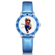 Super mario horloge -  glow in the dark - deluxe