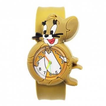 Tom en Jerry horloge Slap on - Jerry