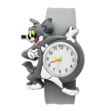 Tom en Jerry horloge Slap on - Tom