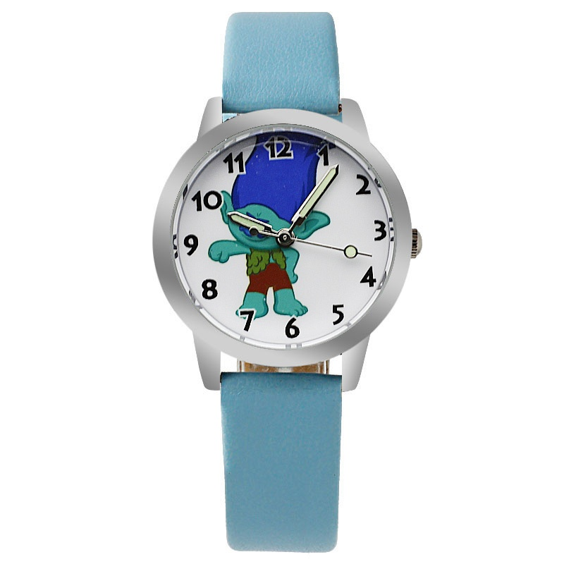 Trolls horloge glow in the dark - Branch