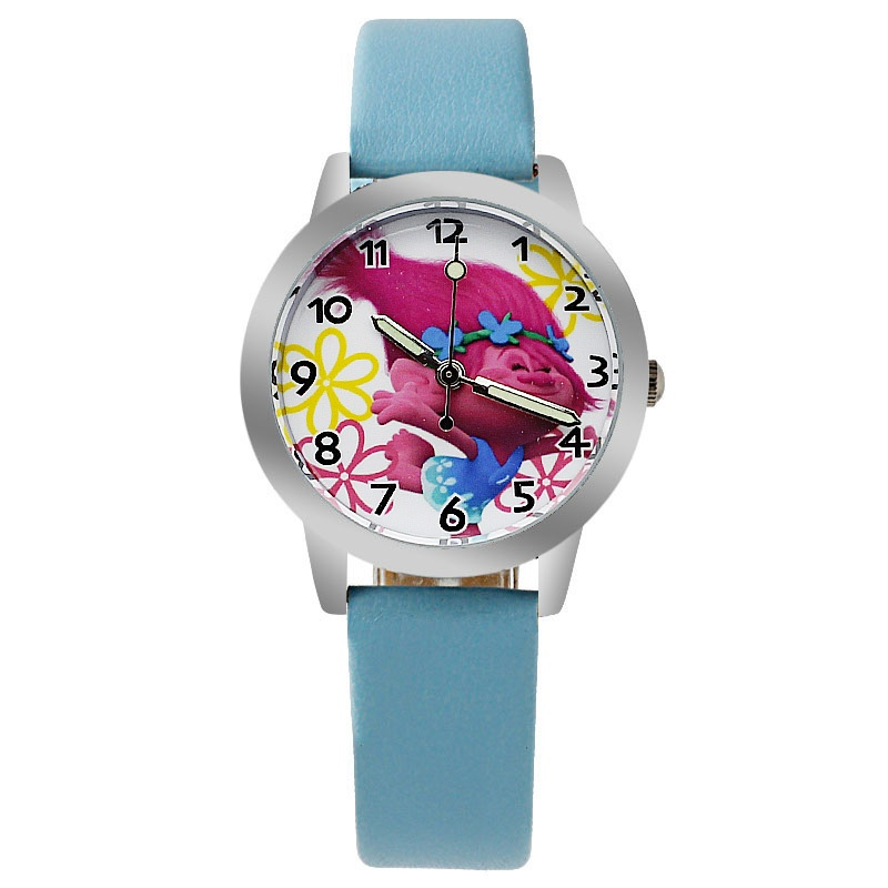 Trolls horloge glow in the dark