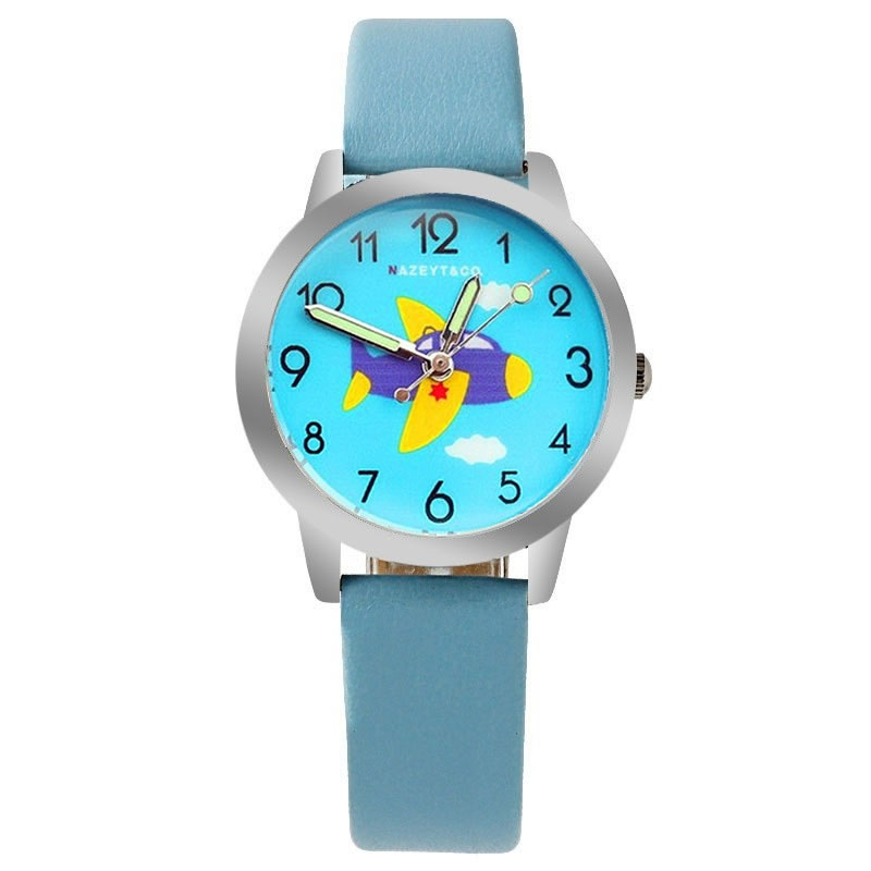 Vliegtuig horloge glow in the dark