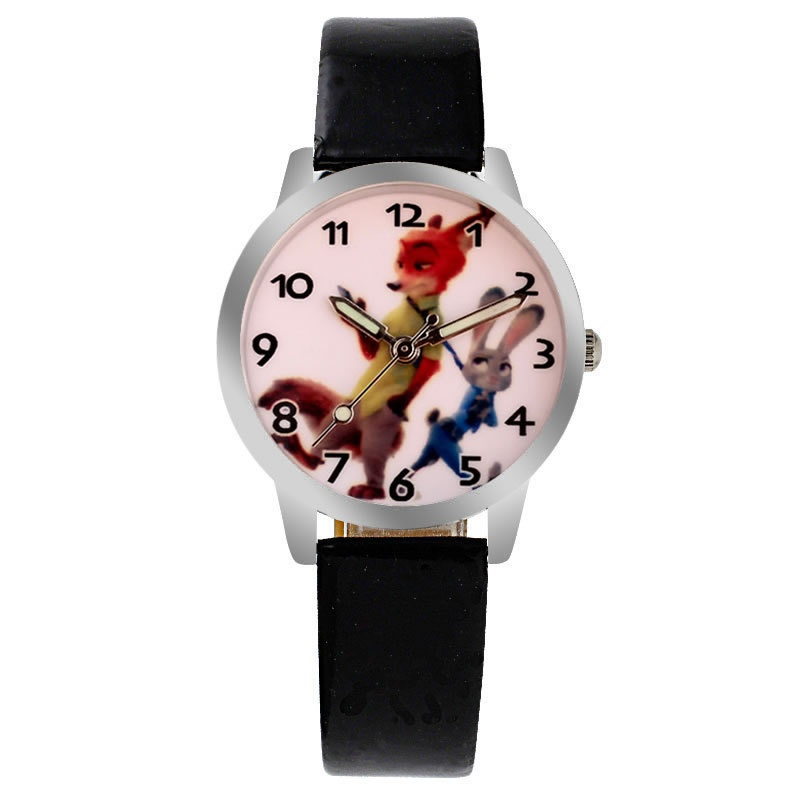 Zootopia horloge glow in the dark